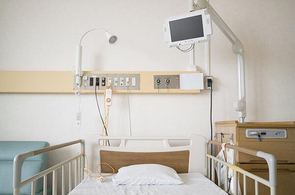 入院が必要なときはどうなるのでしょうか?