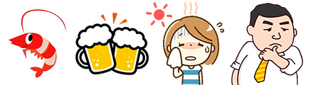 【画像】尿酸上昇の原因