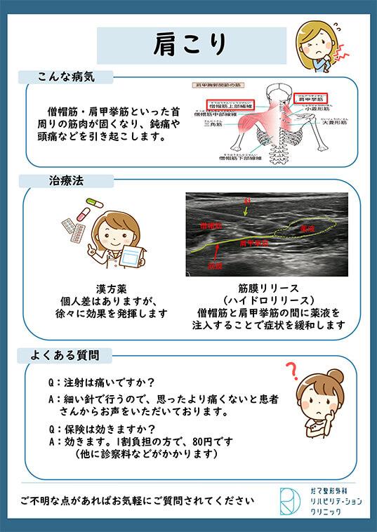 【画像】頚肩腕症候群(肩こり)について